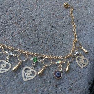 Gold ankle bracelet $30 Brand New Very nice!